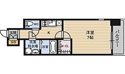 エスプレイス新大阪サウスゲート[13階]の間取り