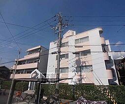 京都府京都市右京区嵯峨石ケ坪町の賃貸マンションの外観