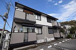 栃木県宇都宮市平松本町の賃貸アパートの外観