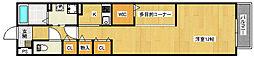 フィレストメゾンエンII[2階]の間取り