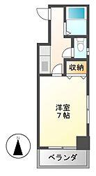 サンシャイン福成[4階]の間取り