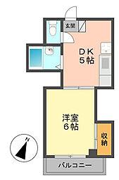 日東ビル[3階]の間取り