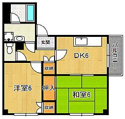 アイボリーハウス[2階]の間取り