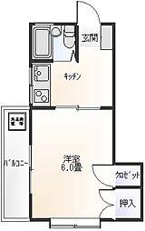 Belle Maison[2階]の間取り