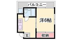 フレンドマンション[5階]の間取り