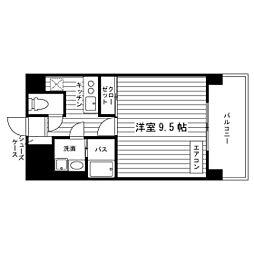 北海道札幌市北区北十六条西5丁目の賃貸マンションの間取り