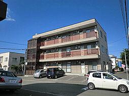 北海道札幌市東区北四十九条東14丁目の賃貸マンションの外観
