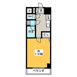アーバンシティ幸田[5階]の間取り