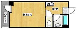 メディカルコーポII[3階]の間取り