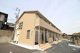 山口県下関市大平町の賃貸アパートの外観