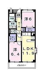 マウント グレイス[2階]の間取り