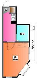 ハウスステージマスヨシ[3階]の間取り