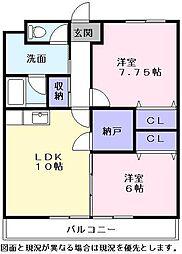 Nasu8[2階]の間取り