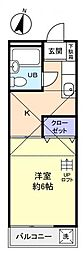 ローラン第2[2階]の間取り