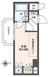 ライオンズマンション京都河原町[1011号室号室]の間取り