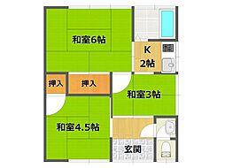[一戸建] 兵庫県伊丹市北伊丹3丁目 の賃貸【/】の間取り