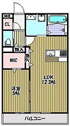 新築共同住宅(田中様邸)[1階]の間取り