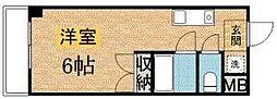 パドーレ カミノ[213号室]の間取り