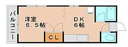 アメニティ浜松[2階]の間取り
