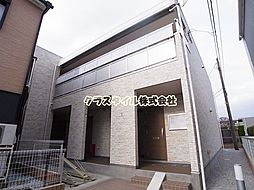 神奈川県相模原市南区鵜野森2丁目の賃貸アパートの外観