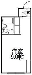 エクセレントハウス725[303号室]の間取り