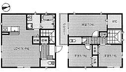 [一戸建] 大阪府堺市堺区榎元町3丁 の賃貸【/】の間取り