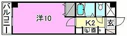 ベルメゾン福音寺[109 号室号室]の間取り