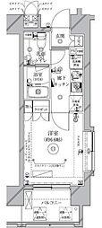 クレイシア新大塚[12階]の間取り
