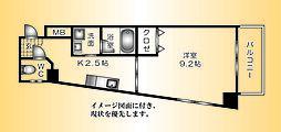 パレス西広島--[305号室]の間取り