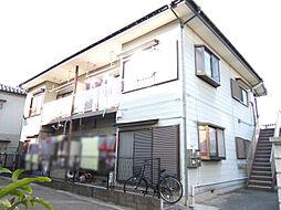 コーポアサカ谷在家第二[202号室]の外観