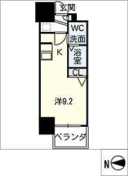 S−RESIDENCE千種[9階]の間取り