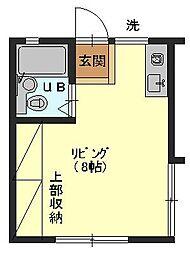 第2カーサ工藤[2階]の間取り