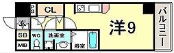 兵庫県神戸市中央区海岸通4丁目の賃貸マンションの間取り