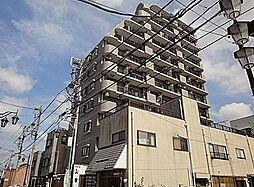 埼玉県東松山市材木町の賃貸マンションの外観