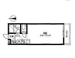 シダーハウス[104号室]の間取り