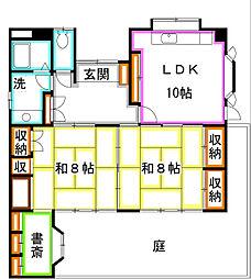 [一戸建] 東京都国分寺市南町1丁目 の賃貸【/】の間取り