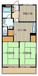 大泉グリーンハイツ[3階]の間取り