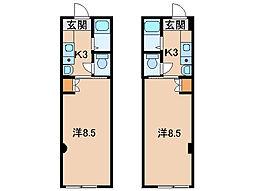 紀ノ川コーポ[1階]の間取り