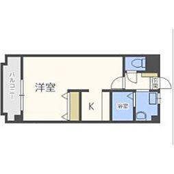 福岡県福岡市東区二又瀬新町の賃貸マンションの間取り