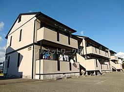 兵庫県たつの市揖保川町黍田の賃貸アパートの外観