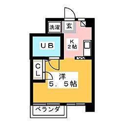 サンライズノリタケ[4階]の間取り