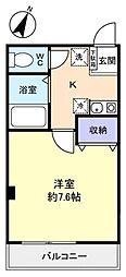 マキビル王子台[7階]の間取り