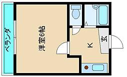 エヴァーラスティングIII[1階]の間取り