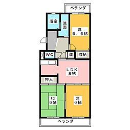 DM41[1階]の間取り