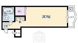 めぞんICHI[4階]の間取り