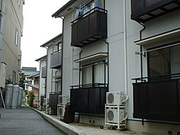 島根県松江市上乃木2丁目の賃貸アパートの外観