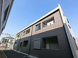 千葉県成田市三里塚御料の賃貸アパートの外観