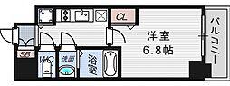 プレサンス立売堀パークシティ[2階]の間取り