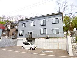 北海道小樽市梅ケ枝町の賃貸アパートの外観