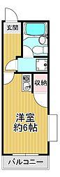 五百石マンション[2階]の間取り